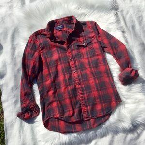AEO Buffalo Plaid Shirt